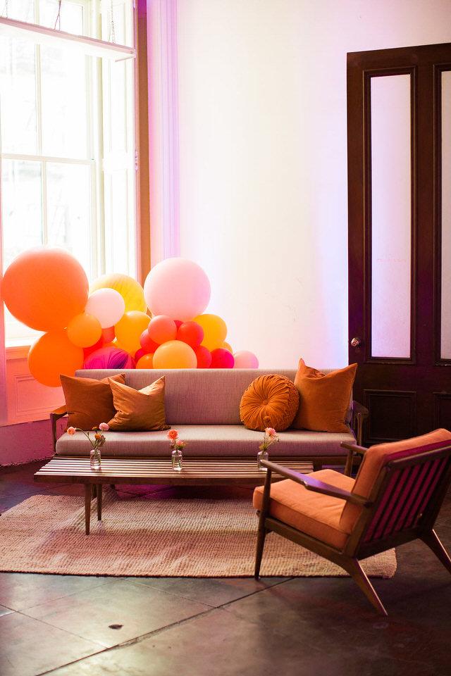 Furniture Organic Balloon Installation - North Bay SF - Zim Balloon Specialties.jpg