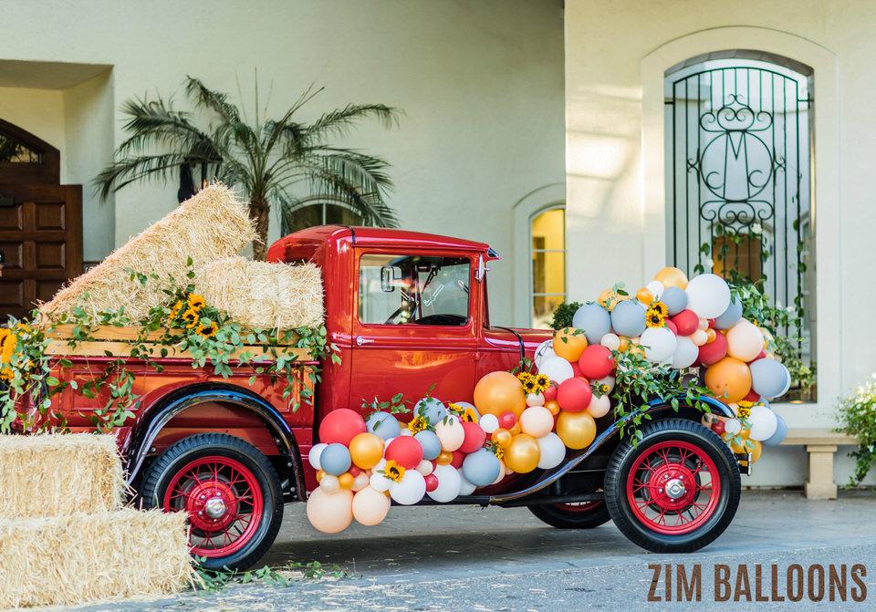 Atherton Organic Car Balloon Sculpture - Zim Balloons.jpg