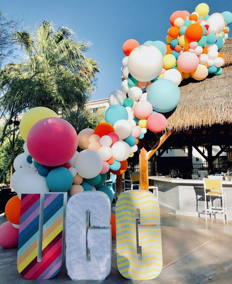 Palm Springs Balloon Installation -Ugg International Employee party - SF Organic Balloons - Zim Balloons.jpg
