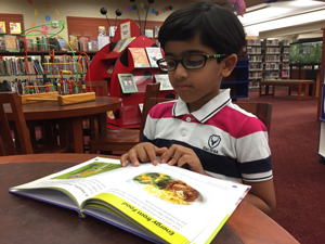 Samit Chaubel, 2nd grader