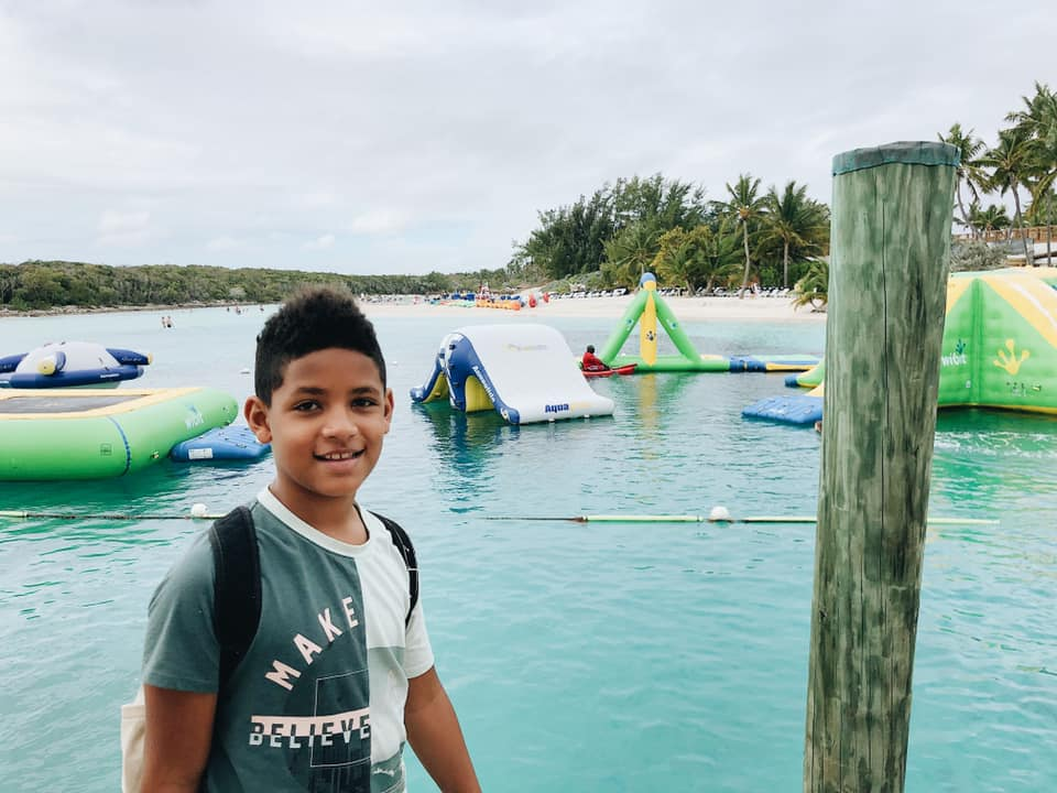 Blue Lagoon Island Inflatable Water Park