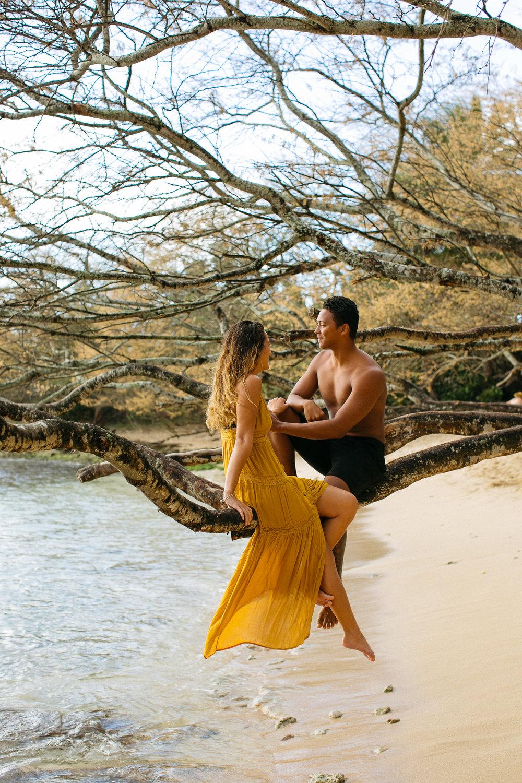 Haleiwa North Shore Couple