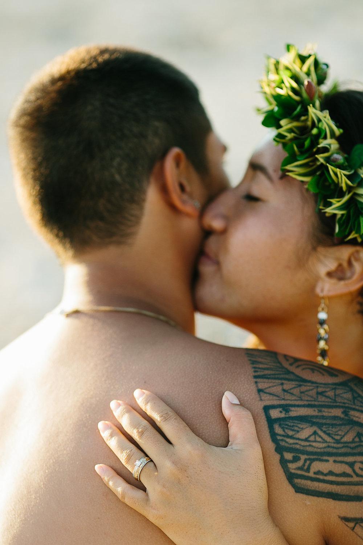 Kohanaiki Beach Engagement Ring