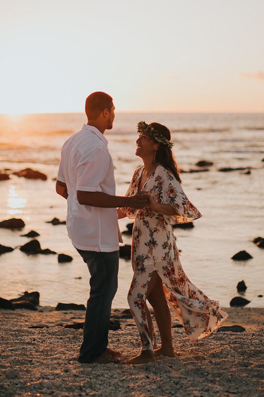 Hawaii Sunset Dance