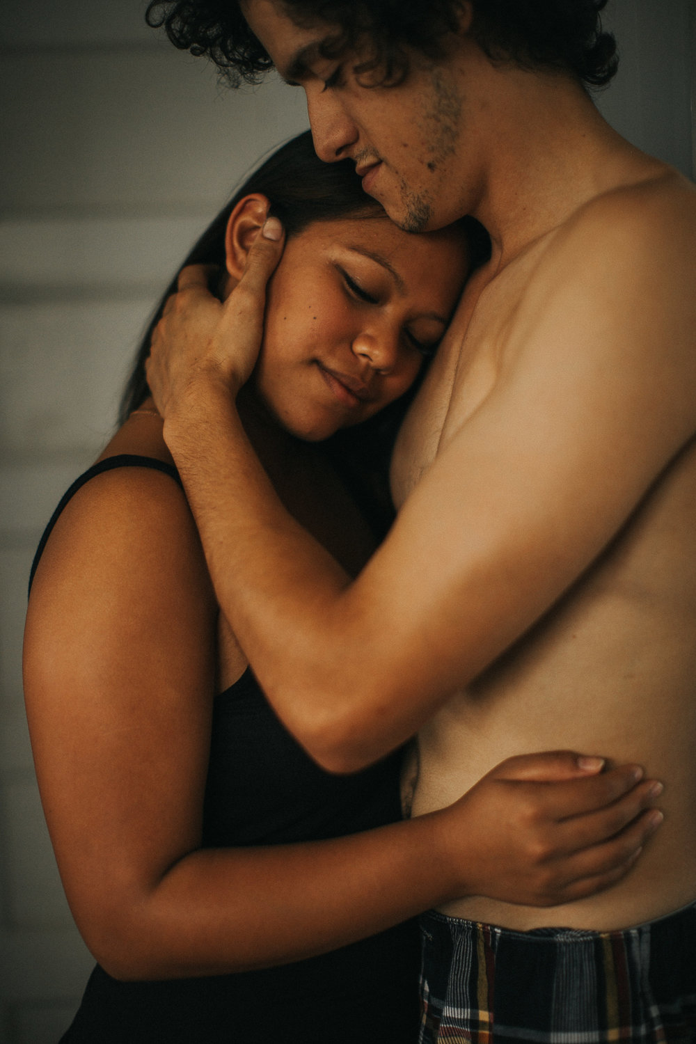 Couples in home photography