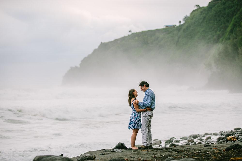 Waipio Valley Couples Session