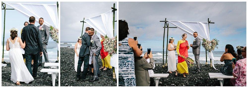 Kapoho Beach Wedding