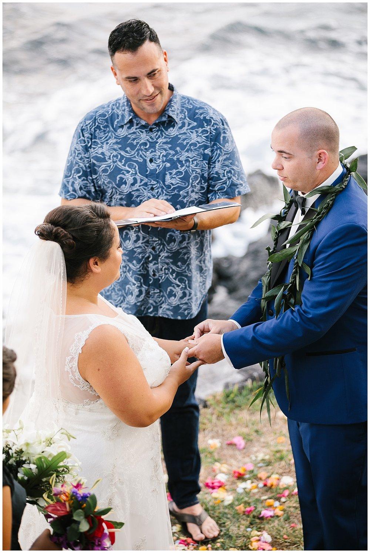 Big Island Kona Wedding