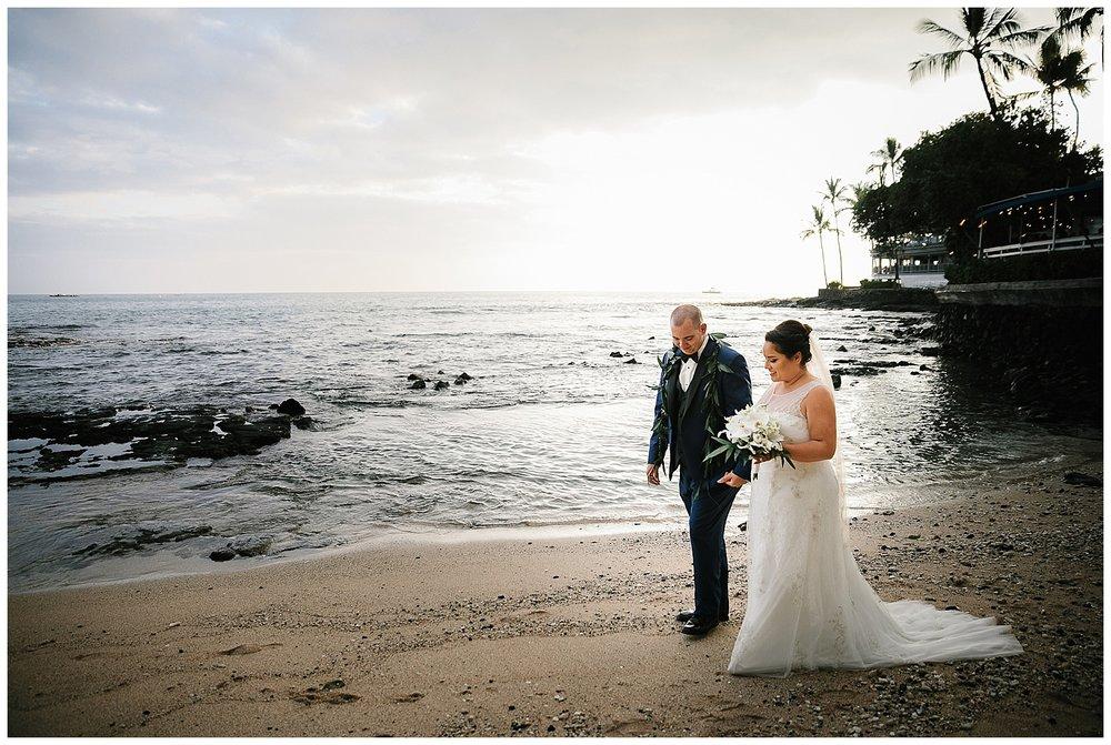 Kona Beach Wedding