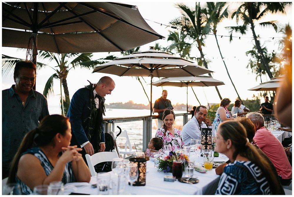 Big Island Wedding Reception