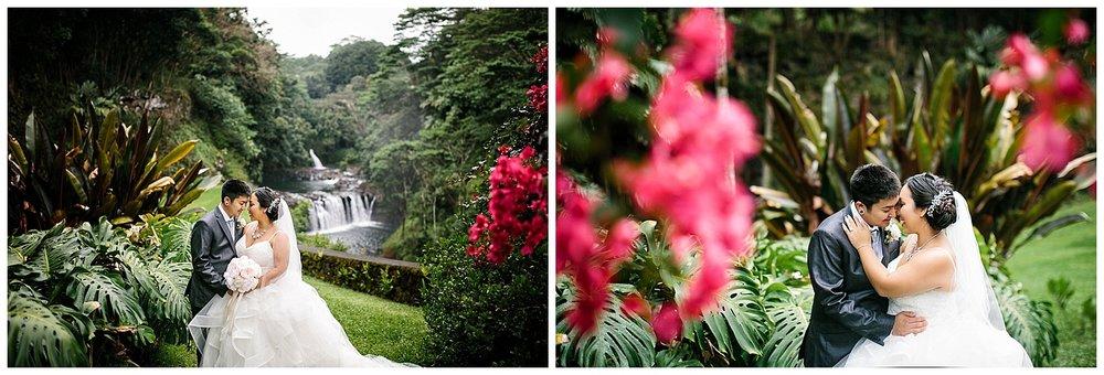 Hawaii Waterfall Wedding