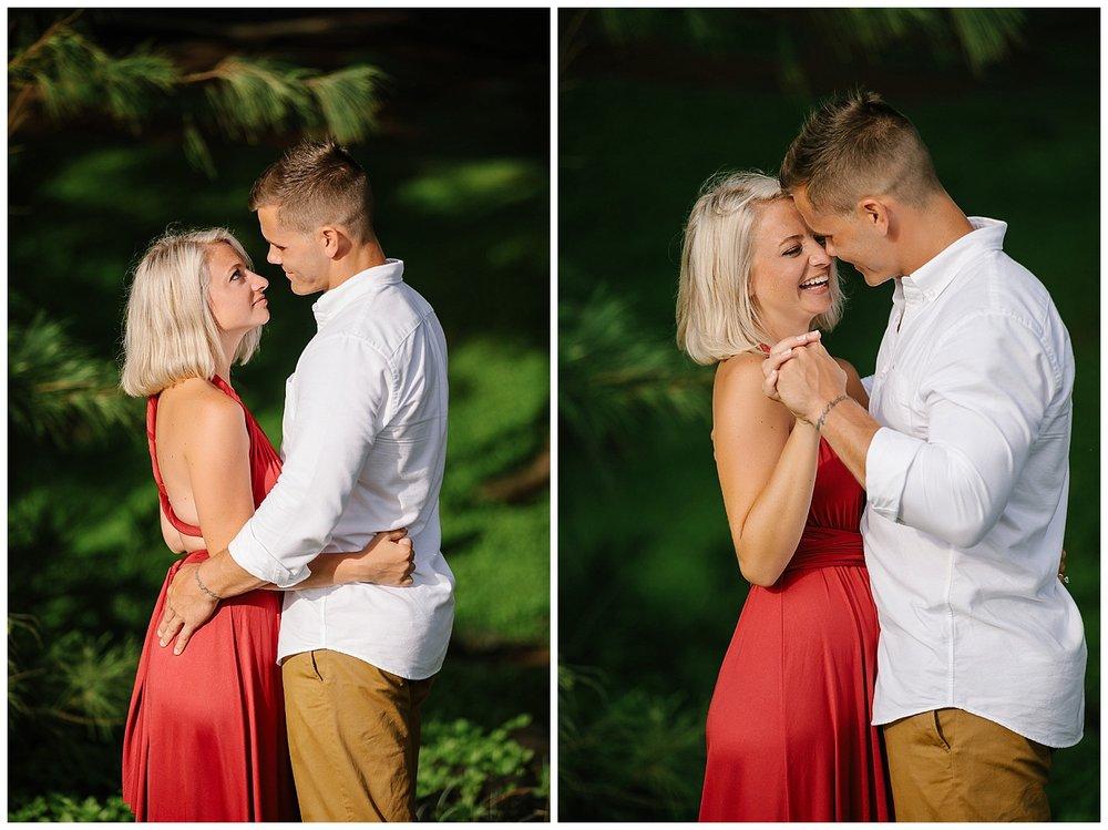 Surprise Engagement Portraits