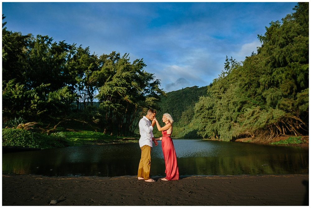Hawaii Sunset Portraits