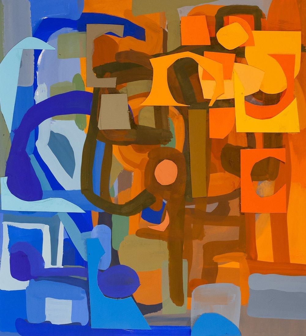 Blue Orange Shuffle