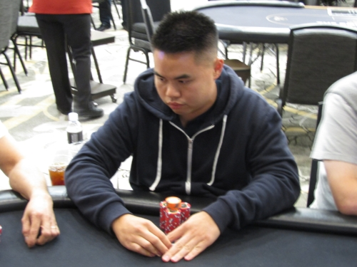 SEAT 4: RAYMOND HO - 1.8 million (CHIP LEADER)