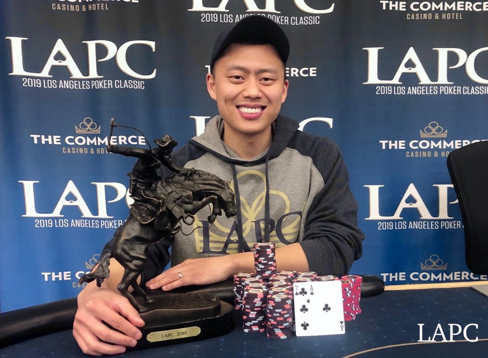 Ping Liu - Event 41 - $350 Double Stack $300,000 GTD - $94,756