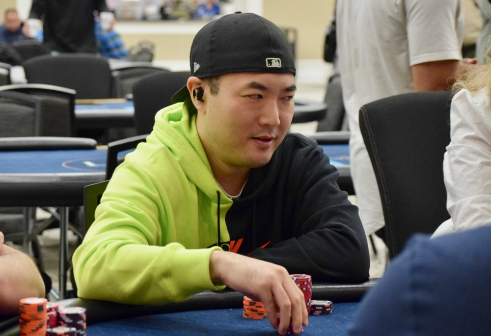 Steve Yea - Seat 6 - 1,050,000