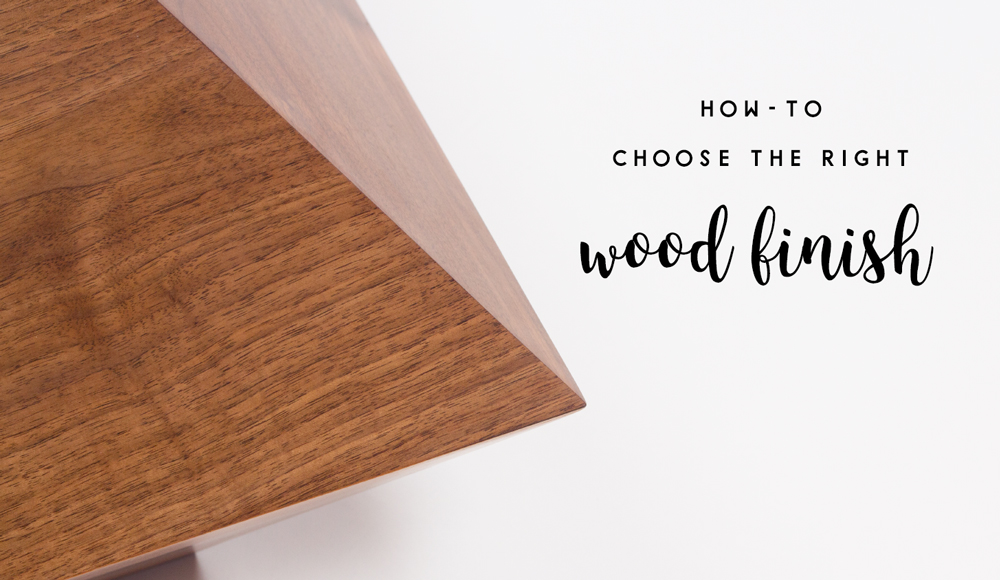 How To Choose The Right Wood Finish Woorharmonic