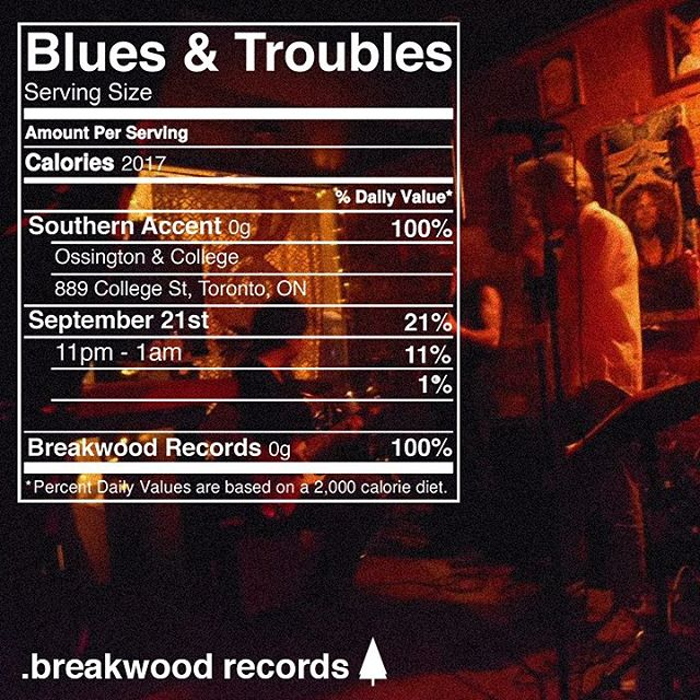 Come see Blues & Troubles live at Southern Accent on Sept 21st at 11pm.