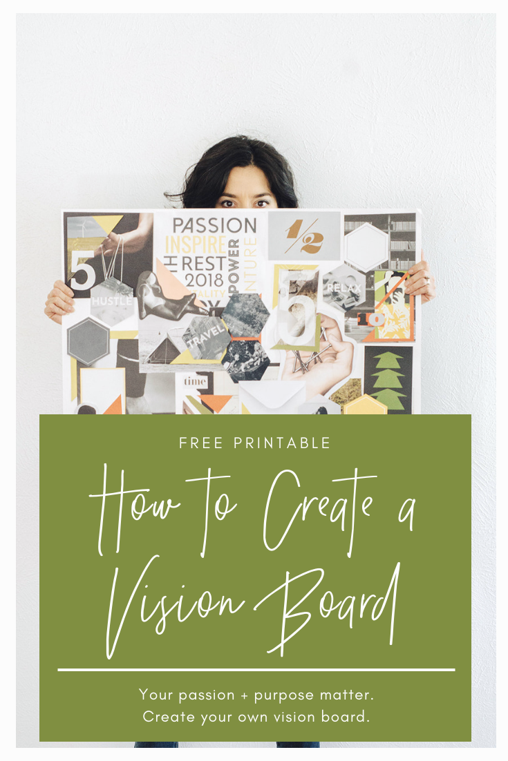 Free Vision Board Printable + How To Guide