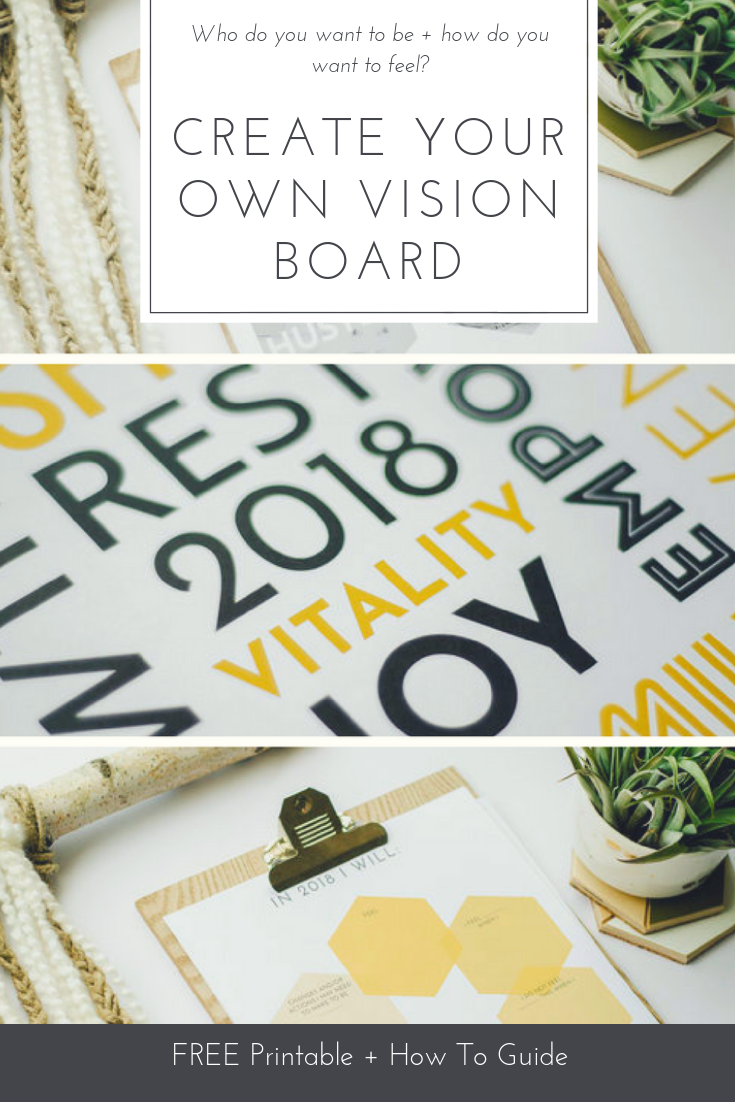 Create Your Own Vision Board