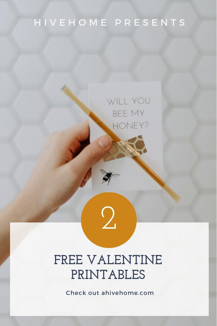 2 Free Valentine Printables