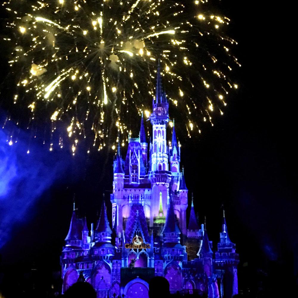 The fireworks were a dream come true