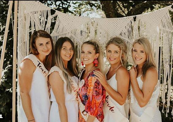 Bridal party NZ