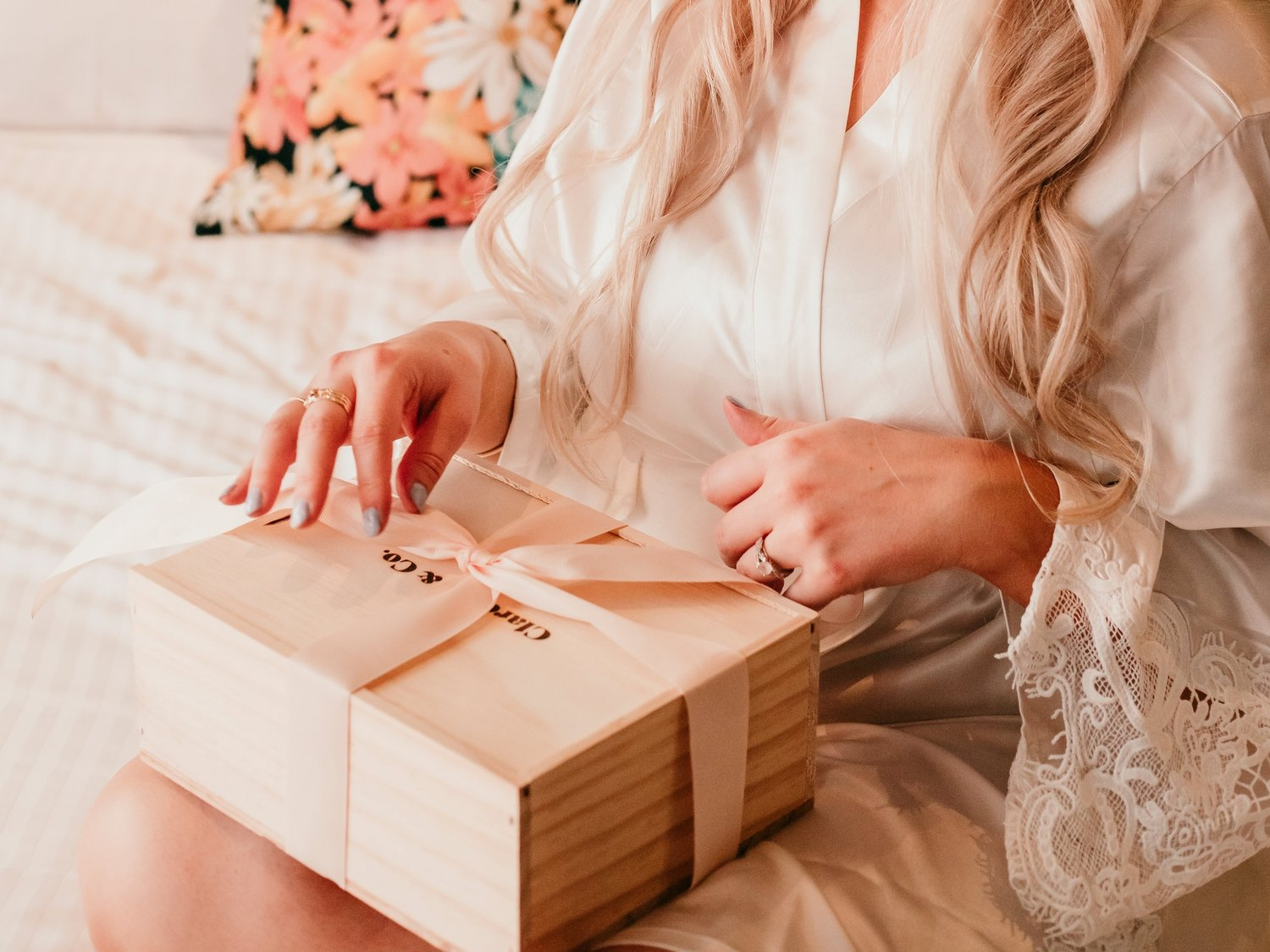 Clarence Co Wedding Robes Gift Boxes Nz
