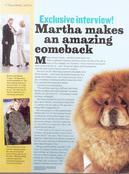 Martha Stewart Cover Story