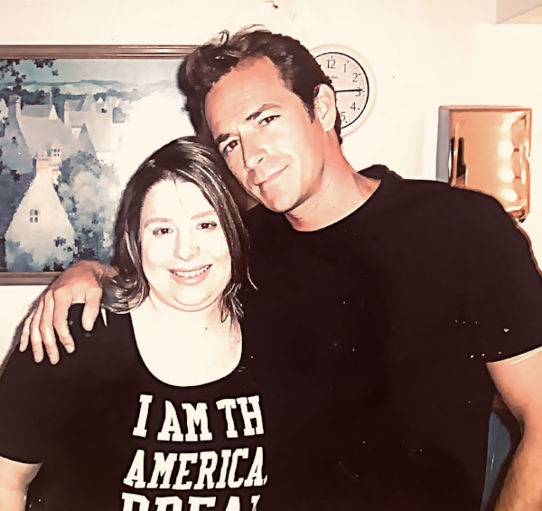 Interviewing Luke Perry in 2004 . . .