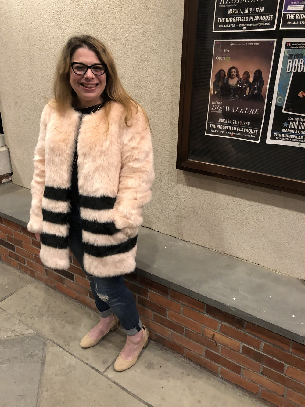 Me in 2019 . . . feeling clear, focused and ready. Also never would have rocked this coat without the confidence I know have!