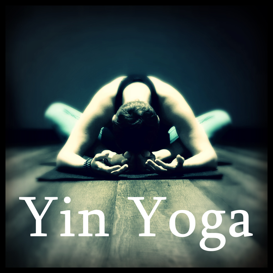 YIN YOGA  Yin focuses on static movement, breath work (Pranayama) and passive poses, held for several minutes leads to a profoundly deep and rewarding practice done by candle light. All levels.