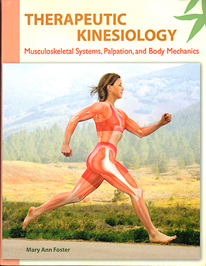 Therapeutic Kinesiology: Musculoskeletal Systems, Palpation, and Body Mechanics. - Mary Ann Foster1st Edition, ©2013. Electronically reproduced by permission of Pearson Education, Inc., Upper Saddle River, New Jersey.Order at mypearsonstore.comView virtual preview