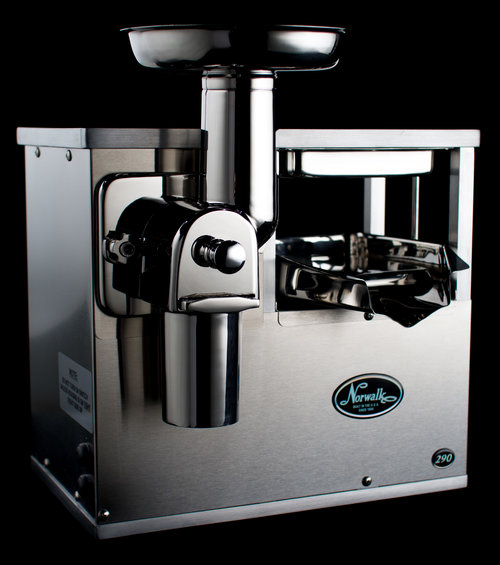 Norwalk Model 290 cold-press juicer.