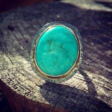 Rocker Turquoise Ring