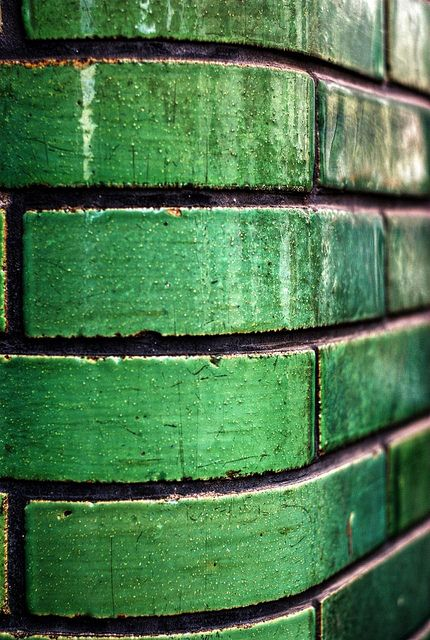 deco green tiles (source unknown)