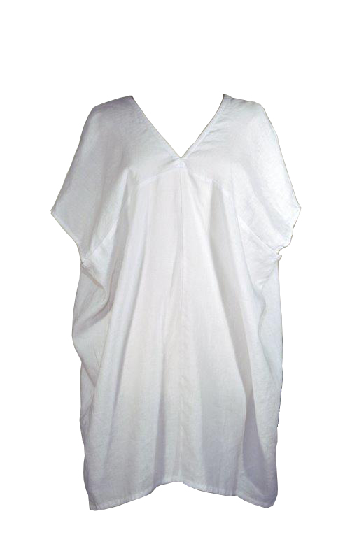 Pua/ Cocoon Linen Cover Up - $138             This cover up is so cute that we think it should be worn off the beach as                                                   well as on. Made from soft Italian linen