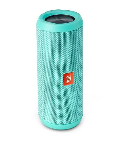 The JBL Flip 4 Splash Proof Speaker - $80           Keep the tunes pumping with the splash proof speaker, runs for                          12 hours on a ion battery. Comes in 6 colors