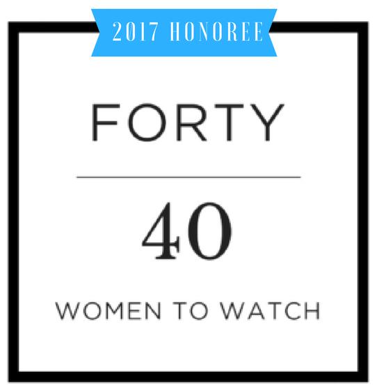 40 Women over 40 ~ 2017