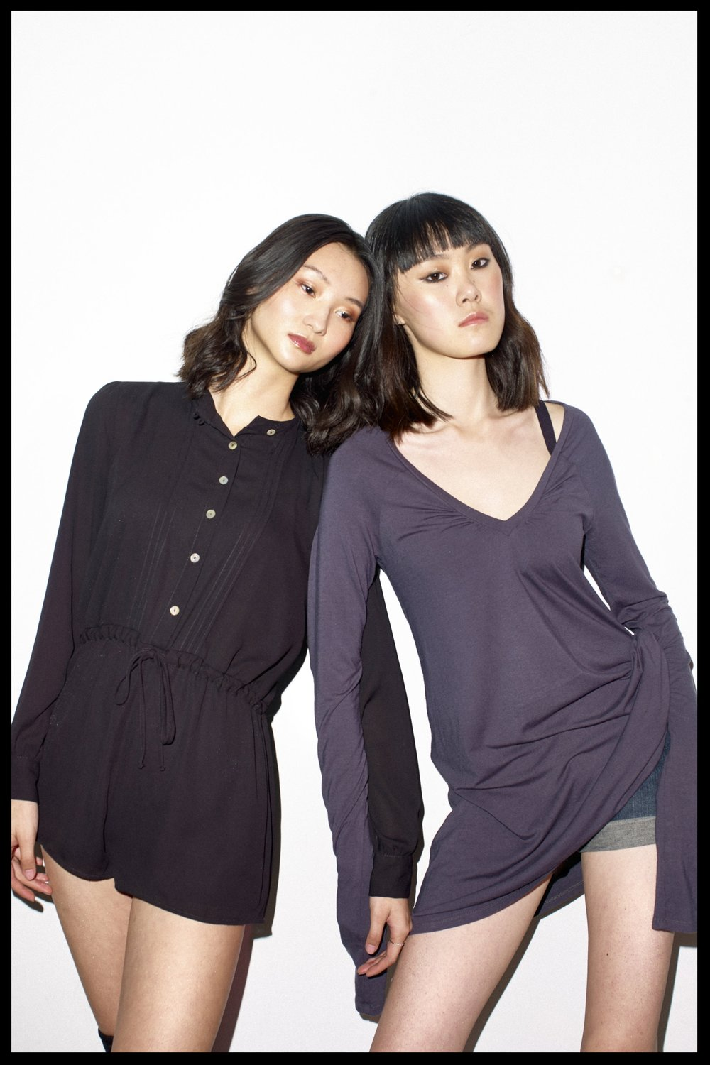 Alice and Freja for James Yang Bintang Models