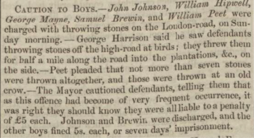 Leicestershire Mercury 27 March 1852