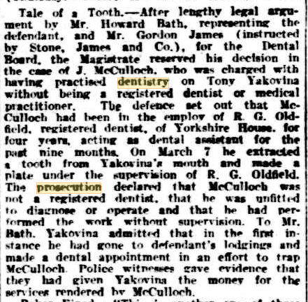 Police Courts, The West Australian, 15 May 1936