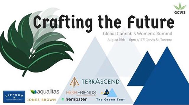 Join us tonight in Toronto for Crafting the Future with @liffordsolutions - party starts at 6pm with a party hosted by The Green Tent then stay for our panel at 8!