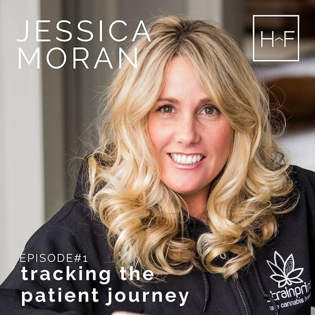 Jessica is one of the coolest data nerds you'll meet! She's deeply passionate about the power of crowdsourced data and how it can be used to ease the patient journey. The work she's doing with the team at @strainprint is industry leading and so important for the progression of the industry. Check out our moving discussion with Jessica in Episode 1: Tracking the Patient Journey. Link in our bio ♥️🤗🌿🌟