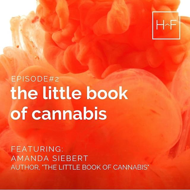 "On October 17th (also known as Cannabis Day here in Canada) award-winning photographer and journalist @amanda_siebert launched her awesome new book, ""The Little Book of Cannabis"" and we caught up with her to chat about the journey and some of the interesting things she learned along the way. Check out the interview in Episode Two, link in our bio 👆♥️🌳🔥✌️"