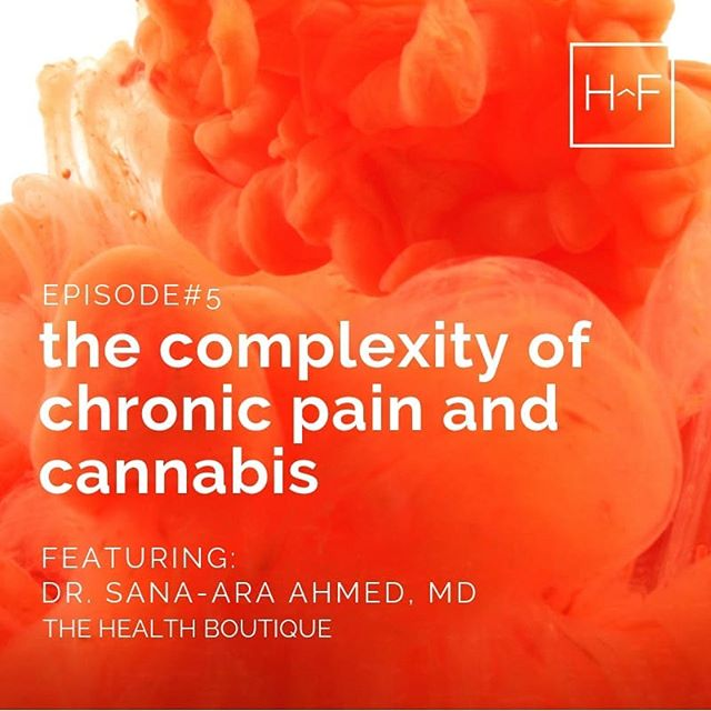 Dr. Sana-Ara Ahmed is an anesthesiologist and chronic pain specialist that incorporates cannabis into treatment plans for her patients. In Episode 5 Dr. Ahmed helps shed light on the complexities of treating chronic pain conditions and how she uses cannabis to help improve her patients quality of life.