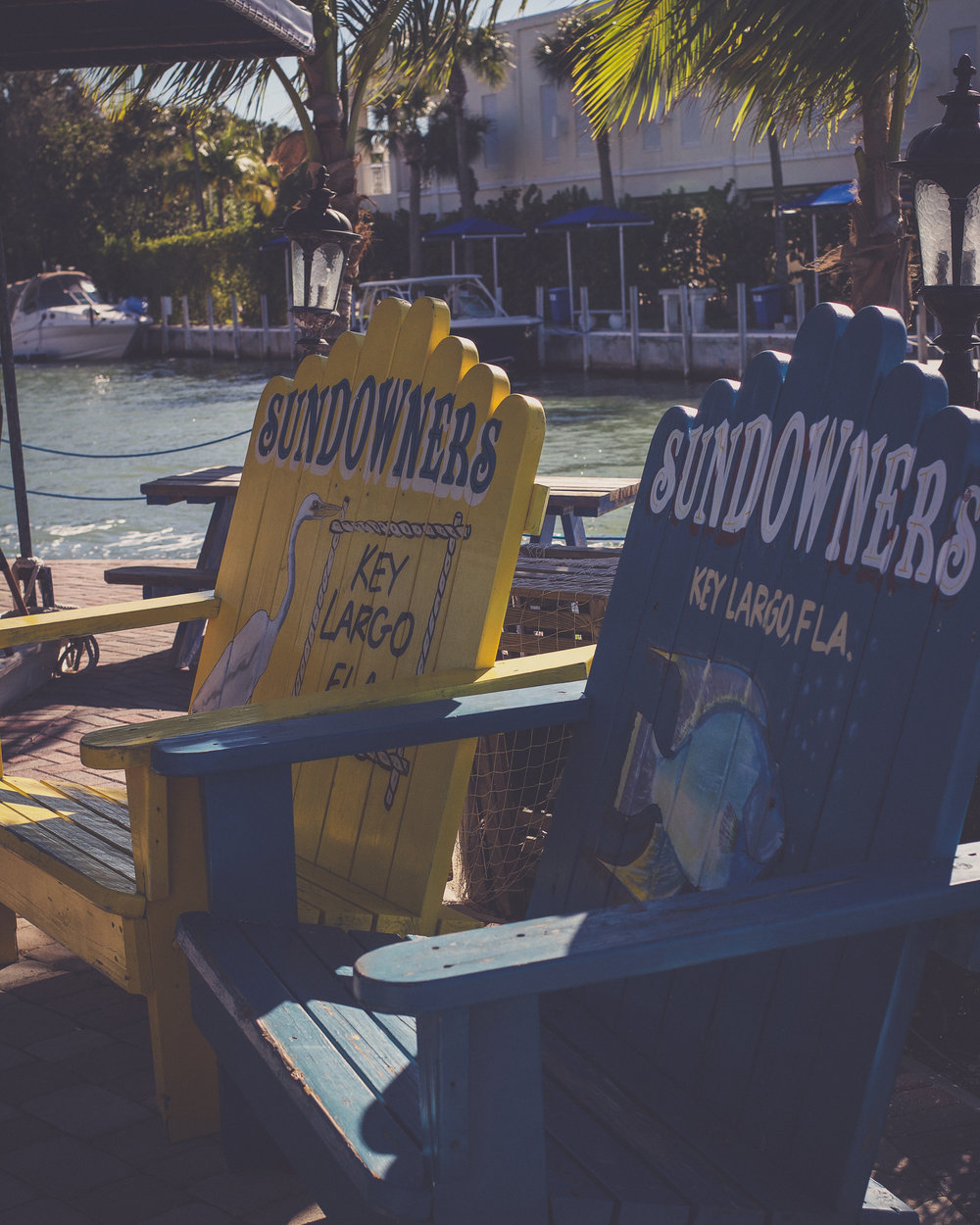 Oversized Adirondack chairs are the perfect photo opportunities