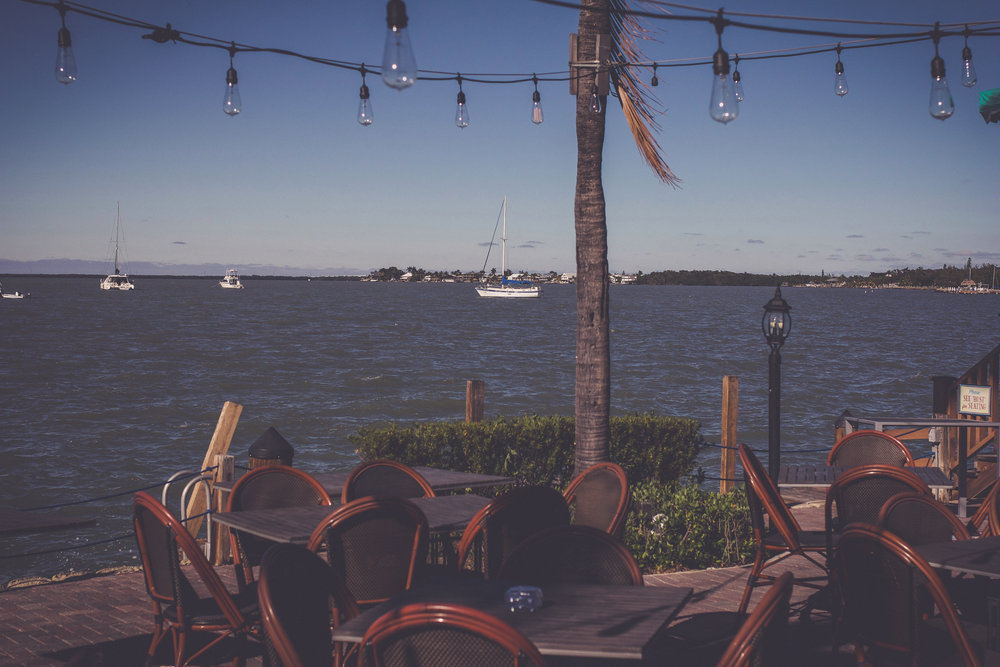 View of the Florida Bay from the Sundowners Patio