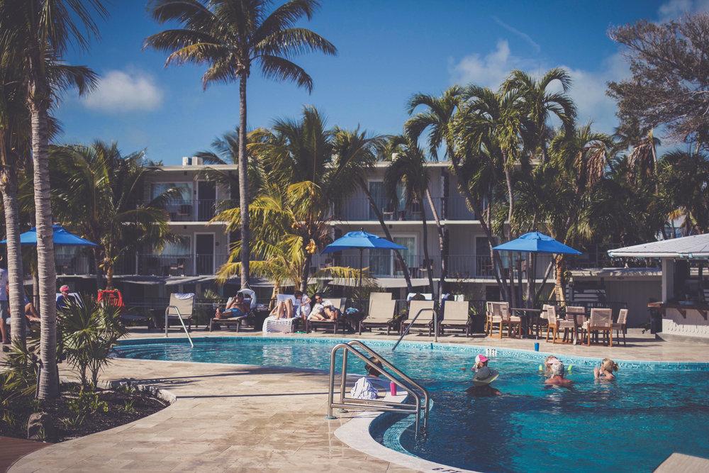 Pool at Postcard Inn